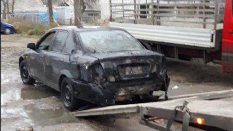 Проделки зелёного змия: в Кагуле водитель поджёг машину, чтобы её не забрали на штрафплощадку