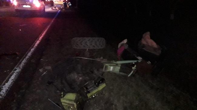 В Штефан-Водэ водитель мотоблока погиб в результате цепного ДТП (ФОТО)