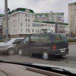 ДТП на Старой Почте: автомобили сильно повреждены (ФОТО)