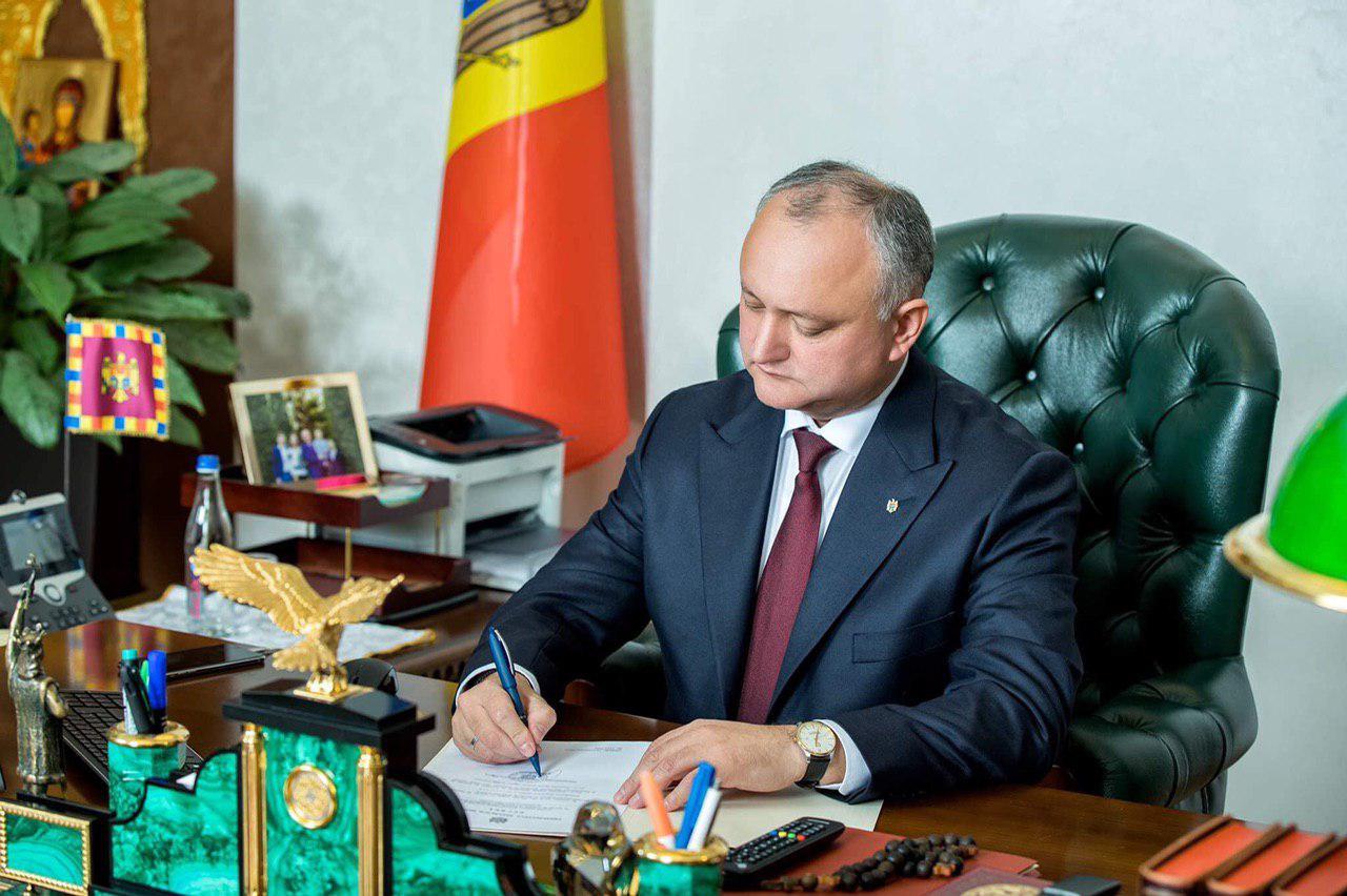 Президент промульгировал законы об индексации пенсий два раза в год и о выделении пособия в размере 700 леев более 590 тысячам граждан