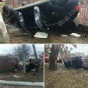 В Бендерах перевернулся автомобиль: водитель в больнице, его пассажир в состоянии шока