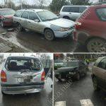 В Тирасполе и Бендерах произошло сразу несколько ДТП: причина - несоблюдение дистанции
