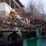 В Рыбнице пожар уничтожил крышу летней кухни