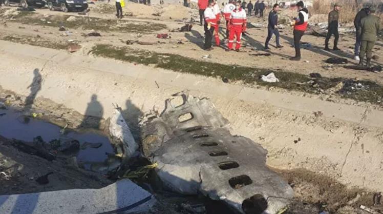 В Иране рухнул украинский пассажирский лайнер