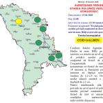 Синоптики предупреждают: уровень загрязнения воздуха в Бельцах превышает норму почти в 2,5 раза