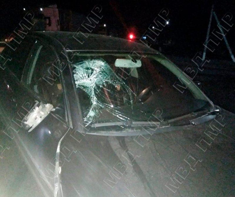 В Григориополе водитель сбил пьяного пешехода (ФОТО)