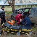 В результате аварии в Слободзее пострадали трое взрослых и двое детей (ФОТО)