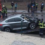 На Чеканах загорелся автомобиль: обошлось без пострадавших (ФОТО, ВИДЕО)