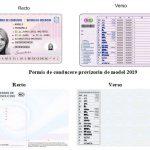В Молдове введены в обращение водительские права нового образца