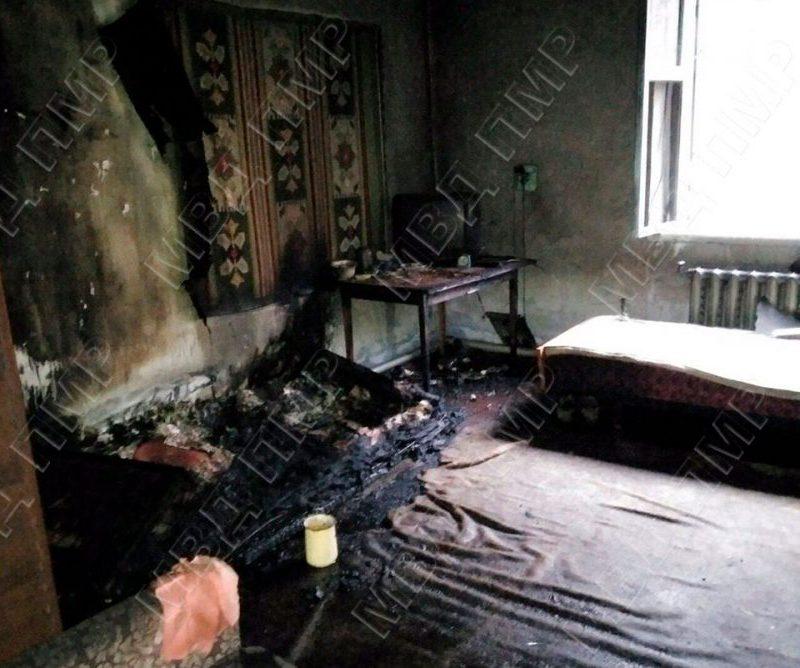 Алкоголь и сигареты привели к трагедии: в Рыбницком районе при пожаре погиб мужчина (ФОТО)