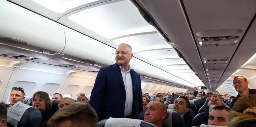 Все три года – обычными рейсами: президентура вернула в госбюджет деньги, предназначенные для чартерных перелетов главы государства (ВИДЕО)