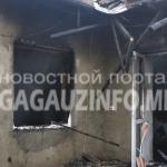 В Конгазе из-за короткого замыкания в доме вспыхнул пожар (ФОТО)