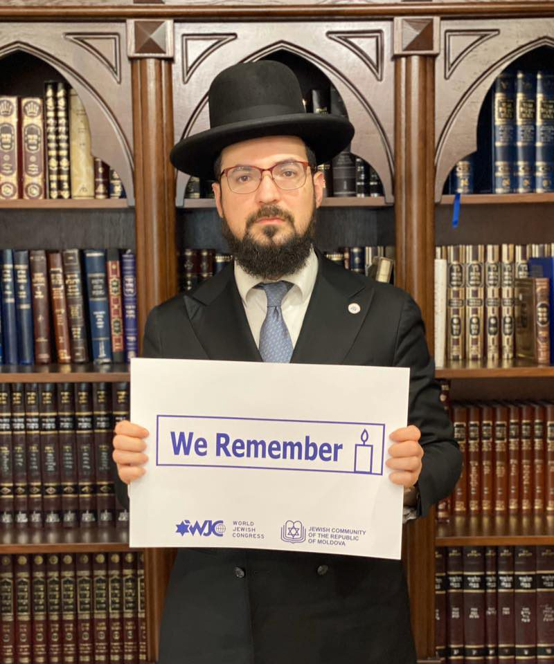 Еврейская община Молдовы поблагодарила Игоря Додона за участие в Форуме памяти жертв Холокоста (ВИДЕО)