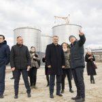 Премьер-министр посетил Международный порт Джурджулешты (ФОТО)