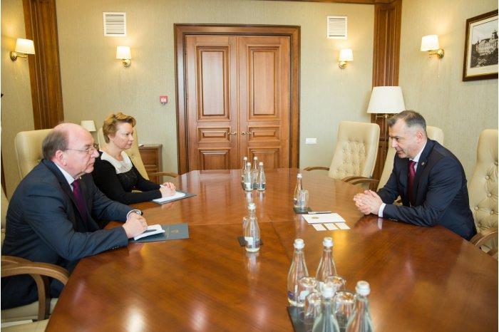 Кику провёл рабочую встречу с послом России в Молдове