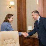 Ион Кику провёл рабочую встречу с послом ФРГ (ФОТО)