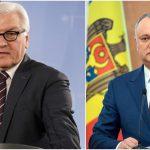 Игорь Додон поздравил президента Германии с днём рождения