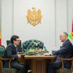 Президент провел встречу с председателем Нацбанка (ФОТО)