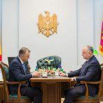 Игорь Додон и Ион Кику провели рабочую встречу (ФОТО)