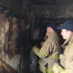 Пожар в Окнице: специалисты назвали три основные версии возгорания (ФОТО)
