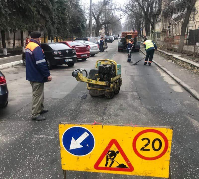 Чебан: Отныне ремонт дорог в Кишинёве будет проводиться качественно (ФОТО)