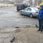 Цепное ДТП на Ботанике: повреждены три авто (ФОТО)
