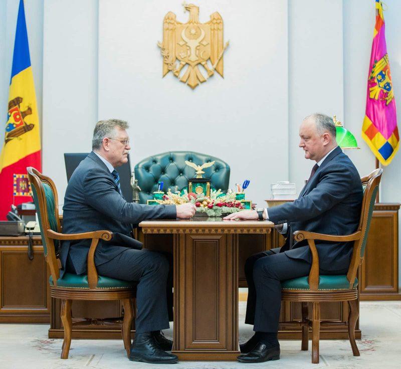 Президент выступил за углубление отношений с Катаром и привлечение инвесторов из этой страны в Молдову (ФОТО, ВИДЕО)