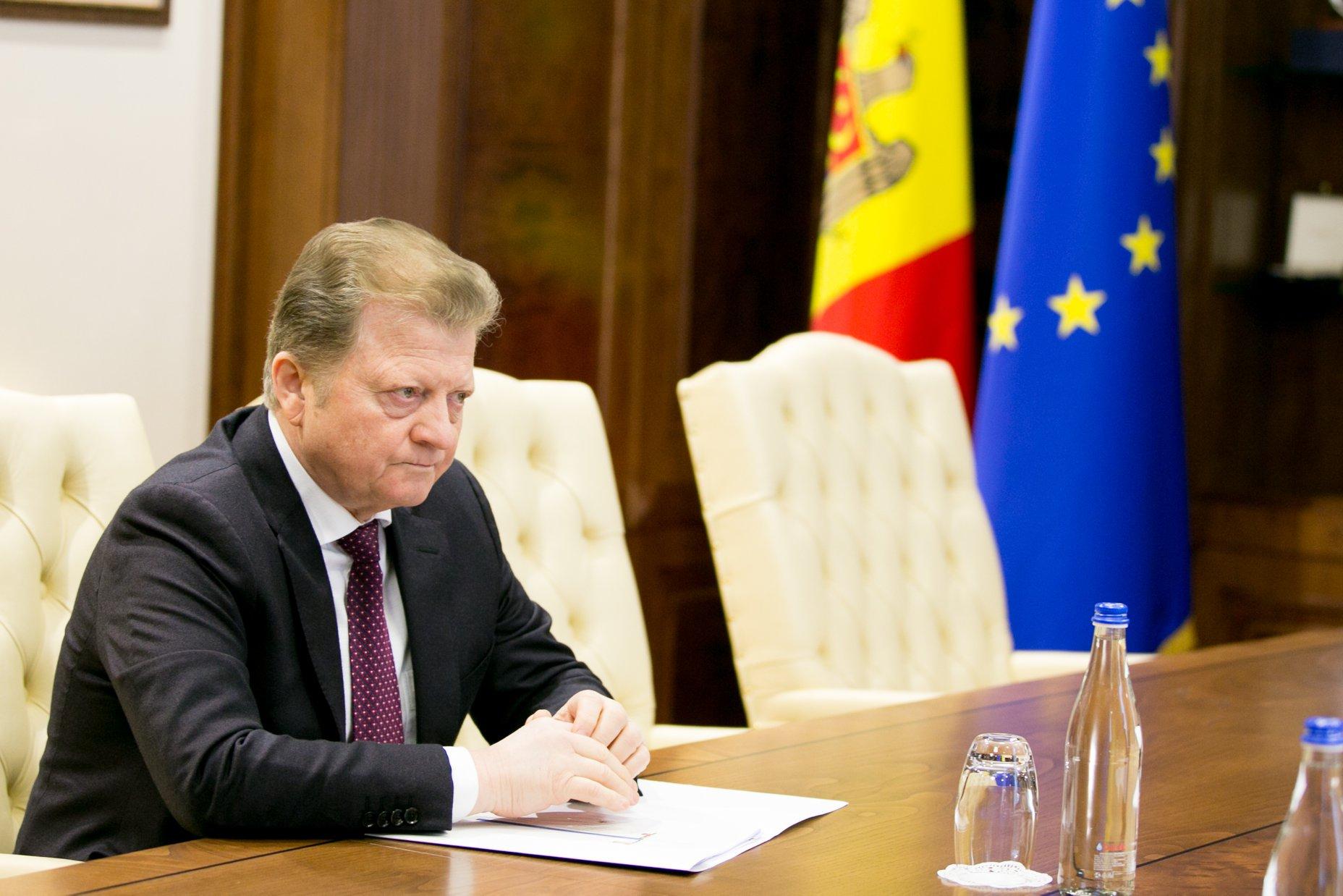 Зинаида Гречаный встретилась с председателем Конституционного суда (ФОТО)