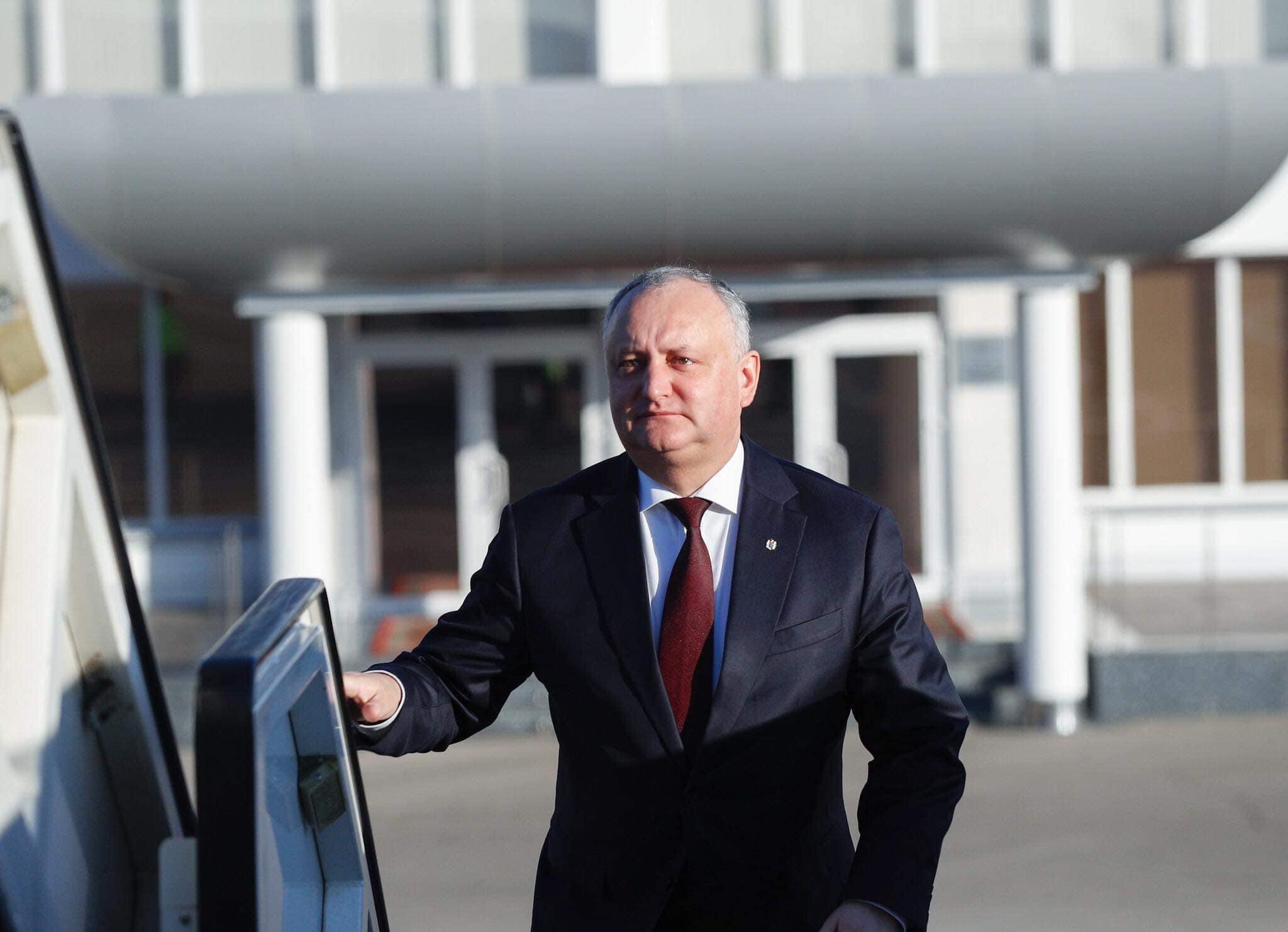 Игорь Додон отправился с рабочим визитом в Мюнхен. Президент примет участие в Международной конференции по безопасности и проведет ряд встреч
