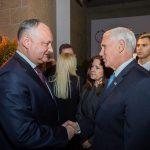 Додон встретился с председателем Европейской комиссии и с вице-президентом США (ФОТО)