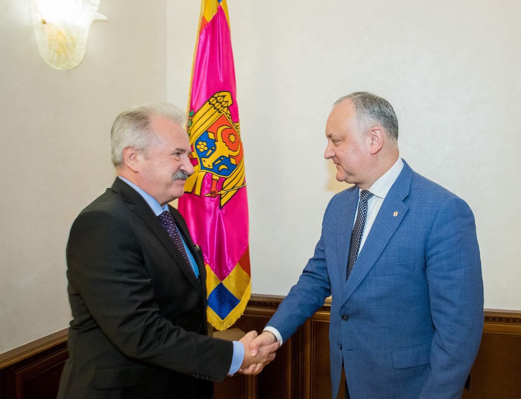 Президент провел встречу с послом Турции в Молдове (ФОТО, ВИДЕО)