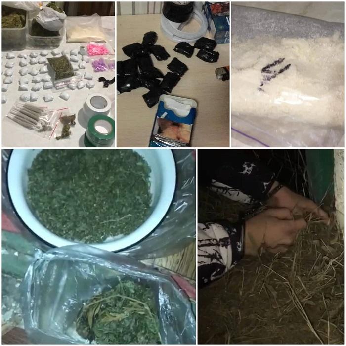 Наркотики на 300 тысяч леев изъяты из оборота полицией и прокуратурой Кишинёва (ВИДЕО)