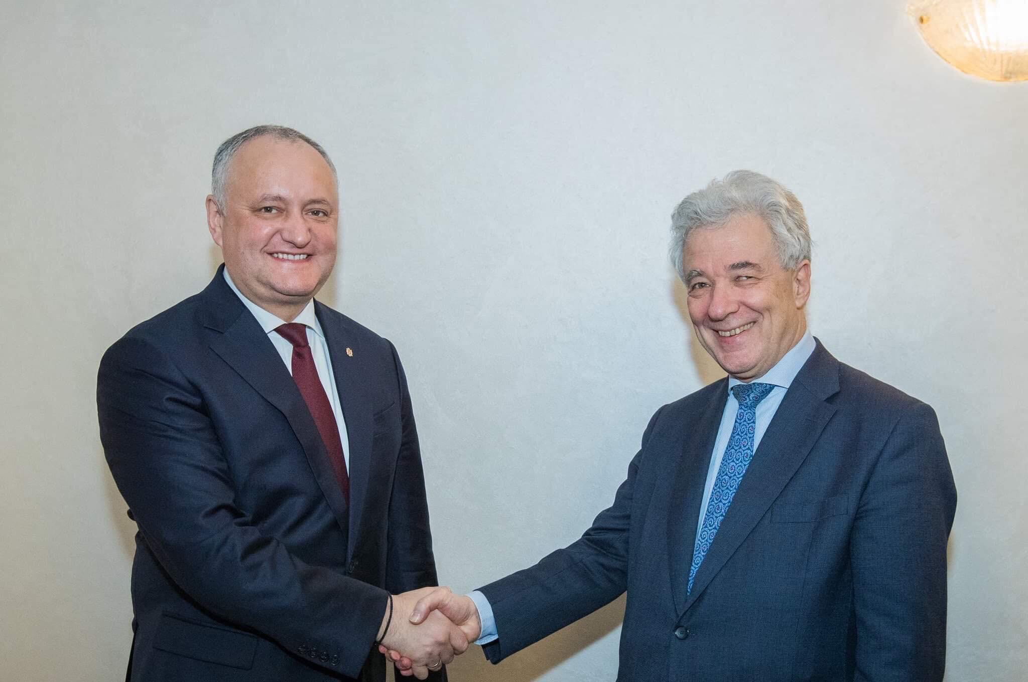 Президент встретился со Спецпредставителем албанского Председательства ОБСЕ (ФОТО, ВИДЕО)