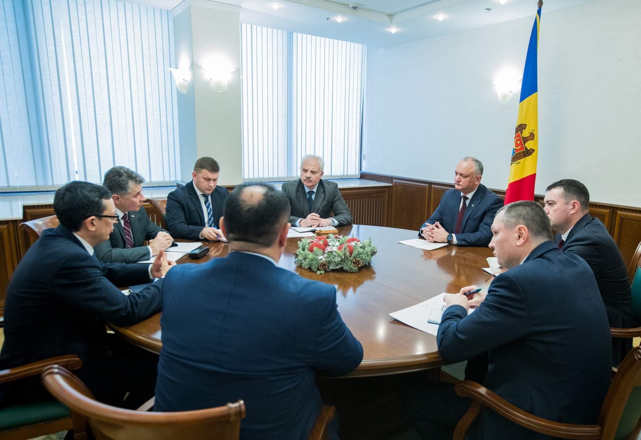 Деятельность экономических агентов из приднестровского региона и их взаимоотношения с коммерческими банками страны – в поле зрения президента (ФОТО, ВИДЕО)