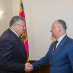 Додон: Укрепление отношений с ЕАЭС отвечает долгосрочным национальным интересам Молдовы (ФОТО, ВИДЕО)