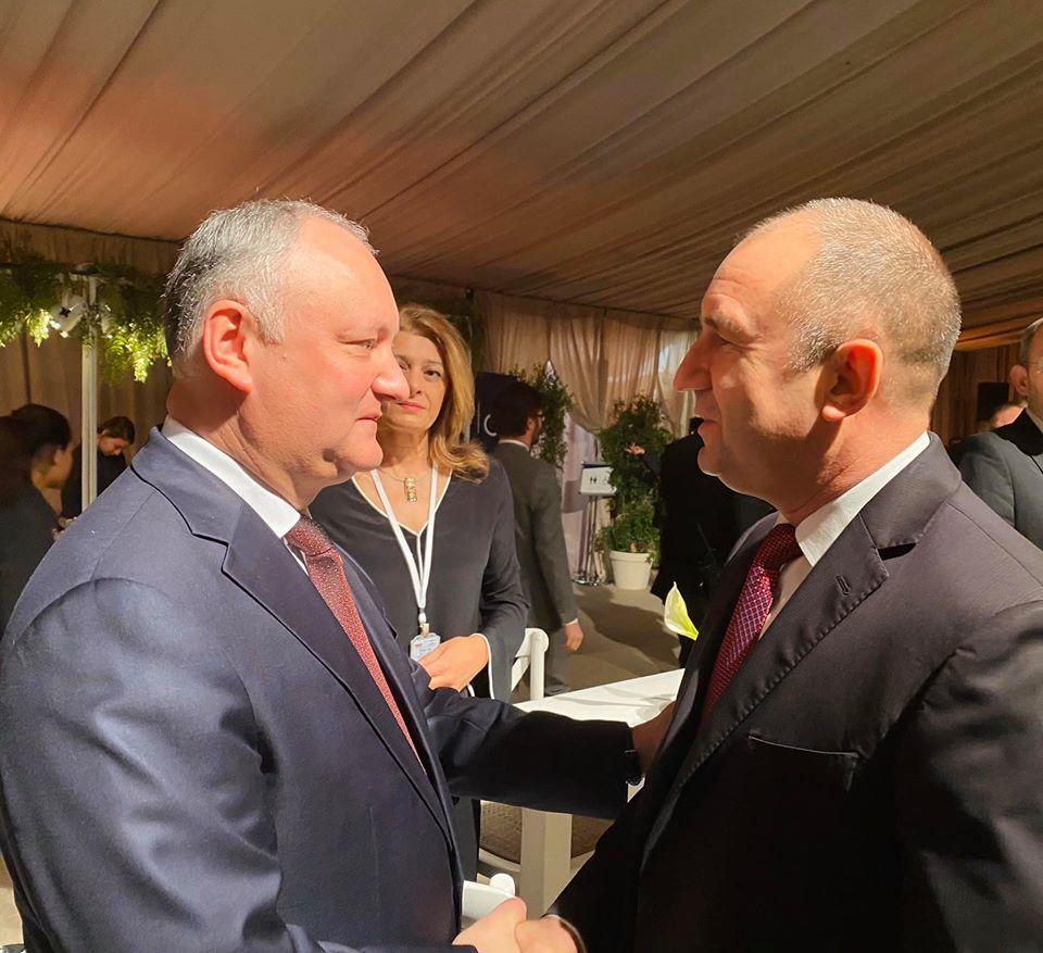 Додон предложил президенту Болгарии провести совместное заседание межправкомиссии по экономическому сотрудничеству