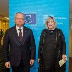 Президент встретился с Комиссаром СЕ по правам человека (ФОТО)