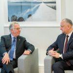 Президент встретился в Страсбурге с председателем Венецианской комиссии (ФОТО)