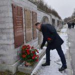 Ион Чебан в Санкт-Петербурге почтил память молдаван, павших при защите блокадного Ленинграда