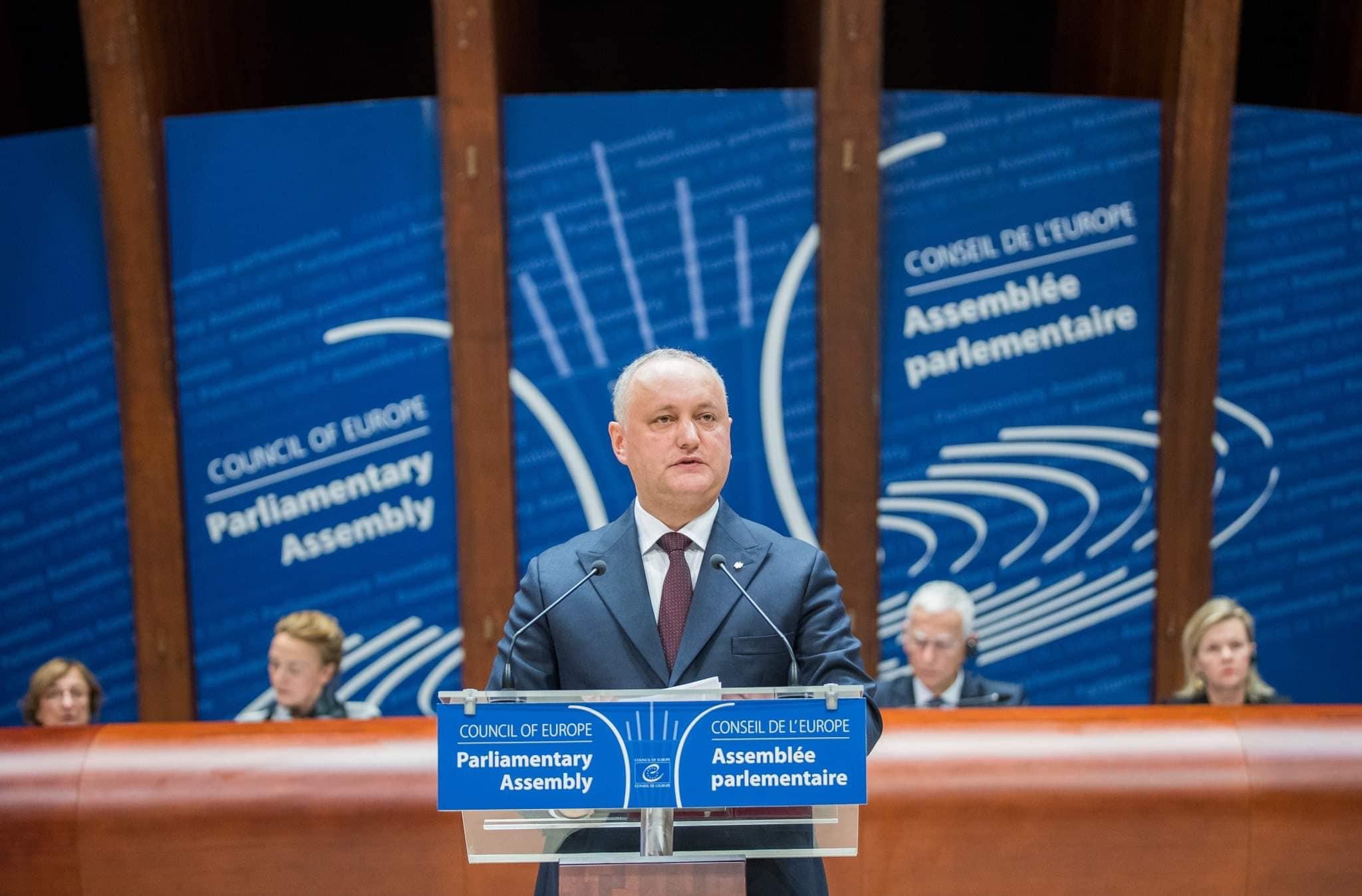 Додон: В поле зрения администрации президента, парламента и правительства остается соблюдение прав и свобод человека в Приднестровском регионе