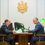 Президент обсудил актуальные вопросы с послом России (ФОТО, ВИДЕО)