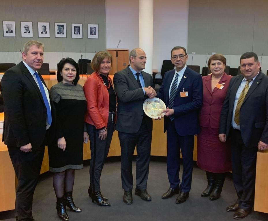 Делегация Парламента РМ совершает визит в Бундестаг