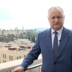 Игорь Додон пообщался в Израиле с лидерами более 20 стран и пригласил Макрона в Молдову (ВИДЕО)