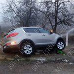 Жительница Григориополя попала в ДТП из-за тумана (ФОТО)