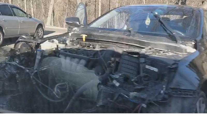 Серьёзное ДТП на Рышкановке: пассажир попал в больницу (ФОТО)