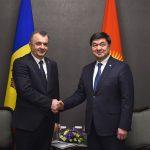 Ион Кику провёл встречу с премьер-министром Киргизии
