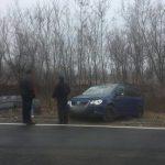 Высокая скорость стала причиной серьёзного ДТП на трассе Кишинёв-Хынчешты