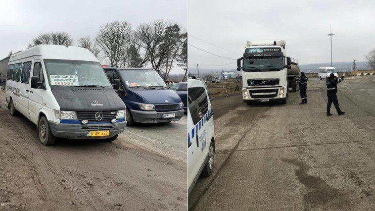 Специалисты проверили грузовики и микроавтобусы в Бельцах на фоне высокого уровня загрязнения воздуха