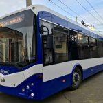 В Кишинёве испытают 5 новых автономных троллейбусов (ФОТО)