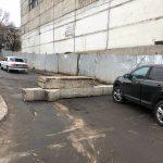 Приостановлено движение транспорта по улице Подул Ыналт